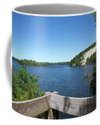 View On The Au Sable Coffee Mug
