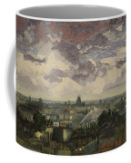 View Over Rooftops Of Paris Coffee Mug