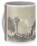 View The Veerweg Culemborg, Jan Weissenbruch, 1847 - 1865 Coffee Mug