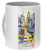 View To Manhattan Coffee Mug