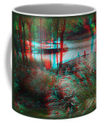 View To The Cove - Use Red-cyan 3d Glasses Coffee Mug