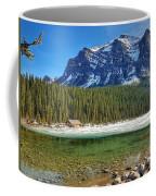 Views From Lake Louise Alberta  Coffee Mug
