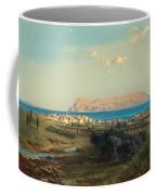 Views Of Algeciras On The Rock Of Gibraltar Coffee Mug