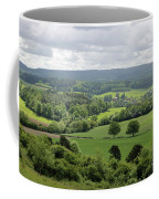 View Of The Surrey Hills From Newlands Corner Coffee Mug