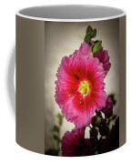 Vignetted Hollyhock Coffee Mug