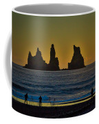 Vik Sea Stacks At Dusk - Iceland Coffee Mug