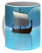 Viking Ship 2 Coffee Mug by Corey Ford