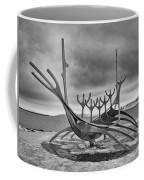 Viking Ship Sculpture Coffee Mug