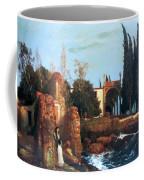 Villa By The Sea 1878 Coffee Mug