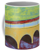 Village And Bridge Coffee Mug