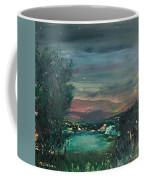 Village At Twilight Coffee Mug
