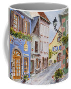Village In Alsace Coffee Mug