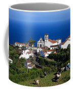 Village In The Azores Coffee Mug