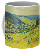 Village In The Foothills Coffee Mug