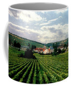 Village In The Vineyards Of France Coffee Mug