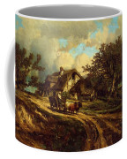 Village Landscape 1844 Coffee Mug