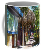 Village Life II - Siesta Key Coffee Mug