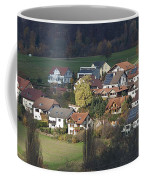 Village Of Residential Homes In Germany Coffee Mug by Greg Dale