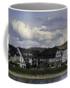 Village Of Spay And Marksburg Castle Coffee Mug