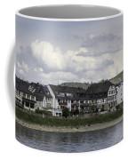 Village Of Spay Germany And Marksburg Castle Coffee Mug