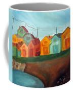 Village On The Coast Coffee Mug