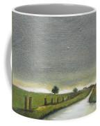 Village Road In The Twilight  Coffee Mug