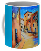 Village Street In Tuscany Coffee Mug