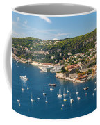 Villefranche-sur-mer And Cap De Nice On French Riviera Coffee Mug