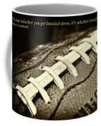 Vince Lombardi Quote Coffee Mug