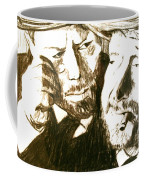 Vincent And Douglas Coffee Mug