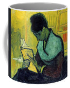 Vincent Van Gogh  A Novel Reader Coffee Mug