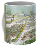 Vincent Van Gogh, Landscape With Snow Coffee Mug