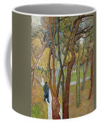 Vincent Van Gogh, The Garden Of Saint Paul's Hospital Coffee Mug