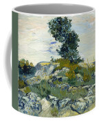 Vincent Van Gogh, The Rocks Coffee Mug