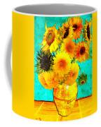 Vincent's Sunflowers 4 Coffee Mug