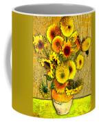 Vincent's Sunflowers Coffee Mug