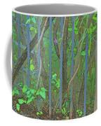 Vines Abstract IIi Coffee Mug