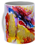 Vines And Glow Abstract Coffee Mug