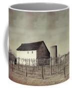 Vineyard In Winter Coffee Mug
