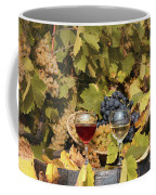 Vineyard With Red And White Wine Autumn Season Coffee Mug