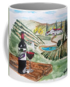 Vineyards Of Tuscany  Coffee Mug