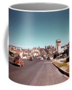 Vintage 1950s View Of Congress Avenue Looking North From South Congress To The Capitol Coffee Mug