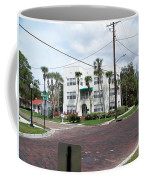 Vintage Florida Apt Bldg Coffee Mug
