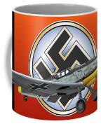 Vintage Bf 109 Coffee Mug