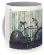 Vintage Bike Polaroid Transfer Coffee Mug by Jane Linders