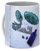 Vintage Blue Coffee Mug