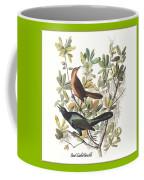 Vintage Boat-tailed Grackles Audubon Coffee Mug