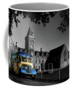 Vintage Bus At Taunton School Coffee Mug