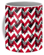 Vintage Camera Chevron Coffee Mug