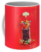 Vintage Candy Store Gum Ball Machine Coffee Mug
